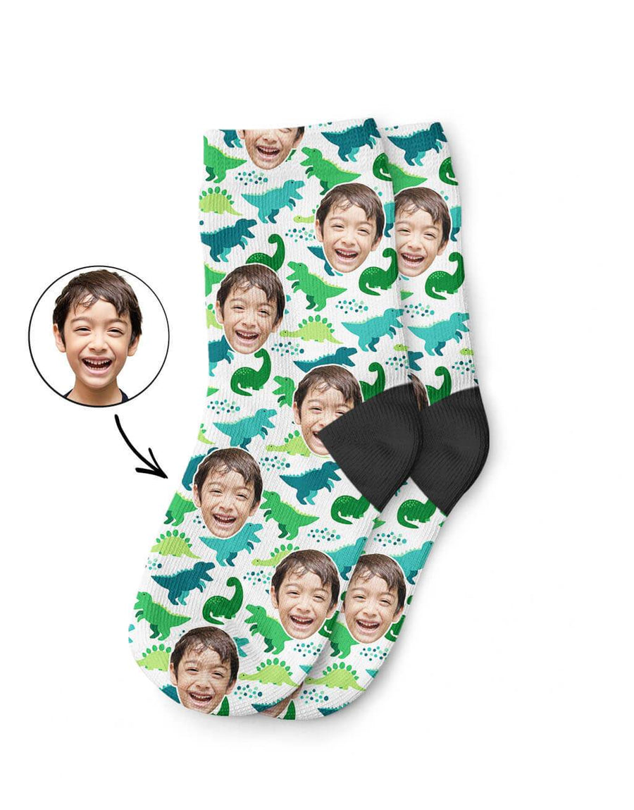 Dinosaur Pattern Kids Socks