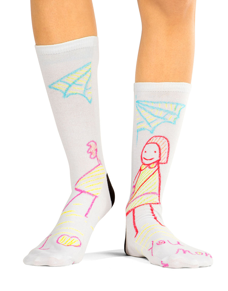 Draw Mommy Socks