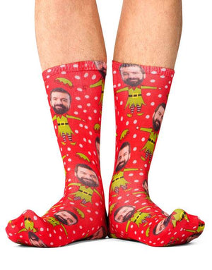 Elf Face Socks