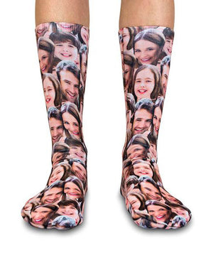 Family Face Mash Up Socks