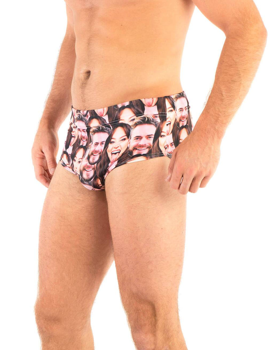 Couple Mash Swimming Trunks