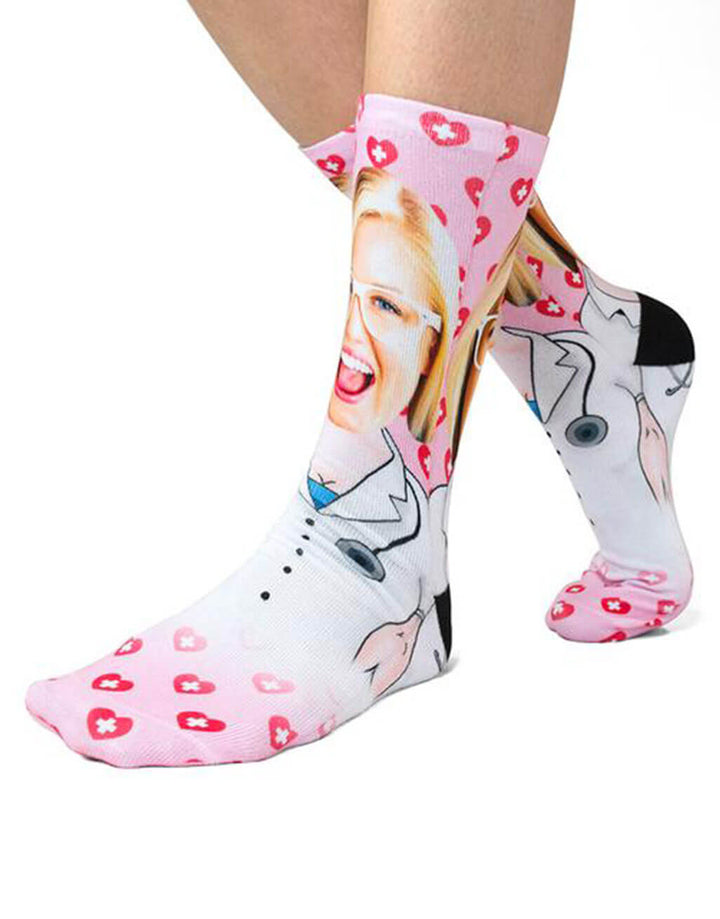 Female Nurse Me Socks