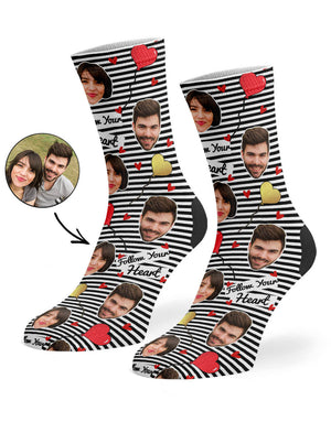 Follow Your Heart Socks