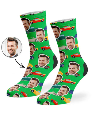 Car Face Socks