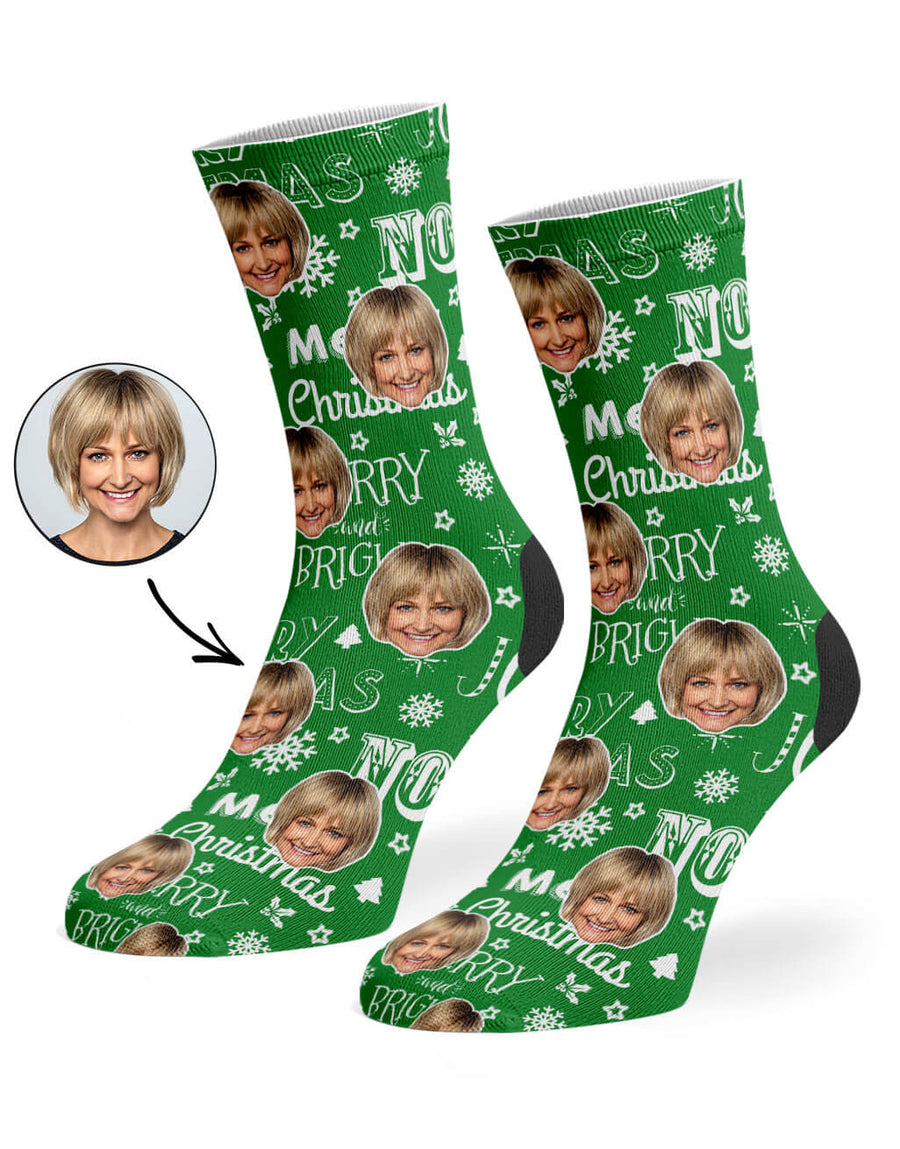 Merry Christmas Socks