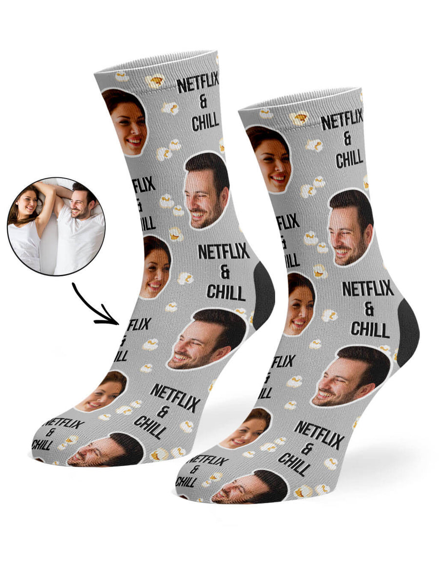 Netflix & Chill Socks