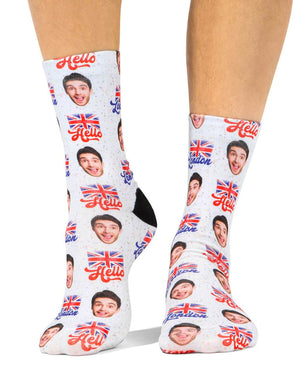 Hello London Socks