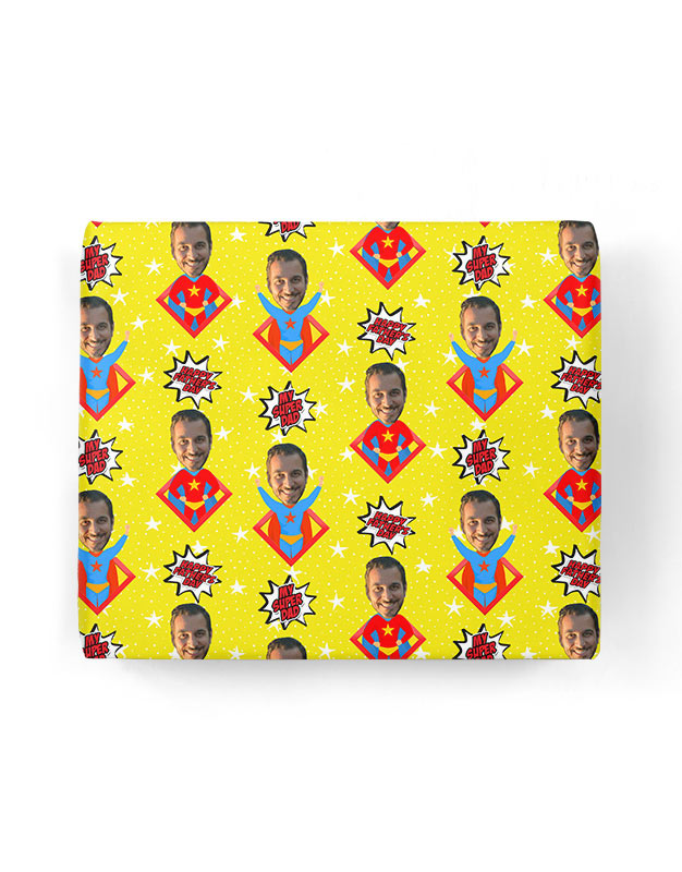 Hero Dad Gift Wrap