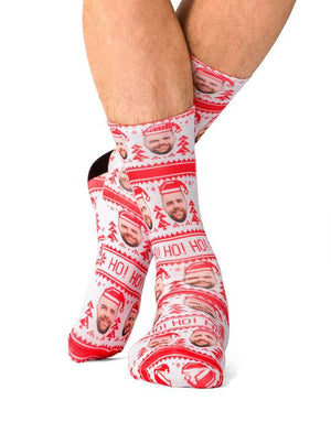 Ho Ho Ho Christmas Socks