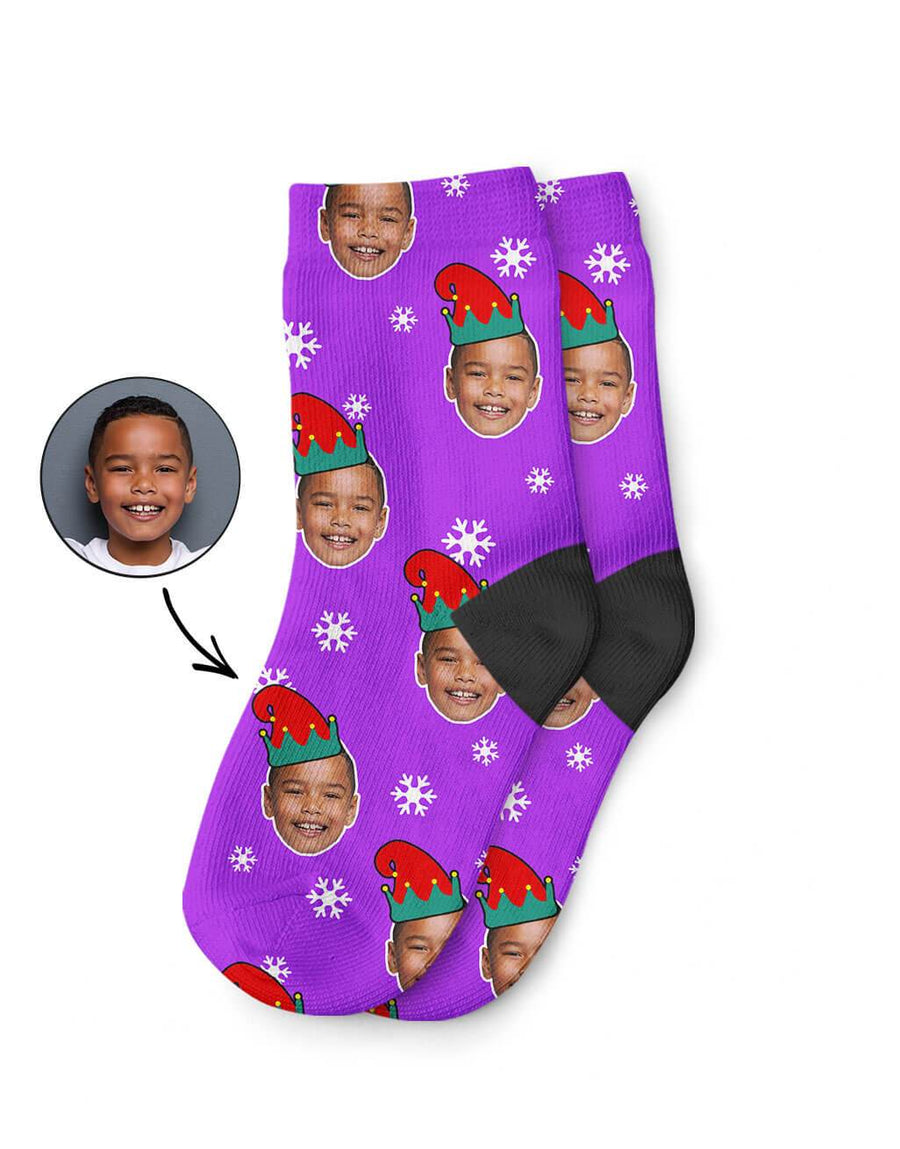 Elf Me Kids Socks