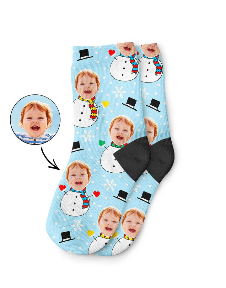 Snowman Kids Socks