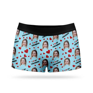 I Love My Girlfriend Boxers