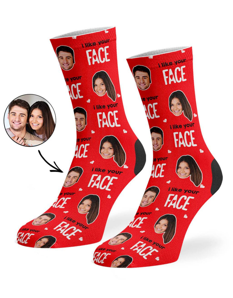 I Like Your Face Socks