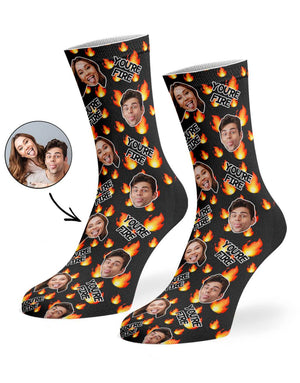 You're Fire Socks