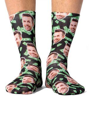 Make It Rain Dollars Socks