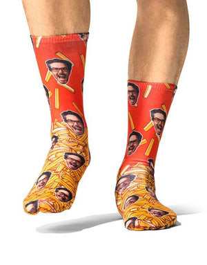 McFries Face Socks