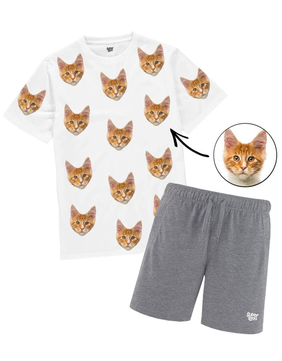 Mens Your Cat PJs