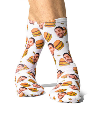 Mmmm Burger Socks