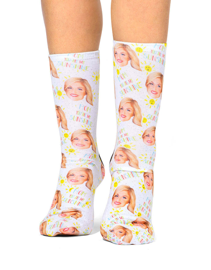 You Are My Sunshine Socks