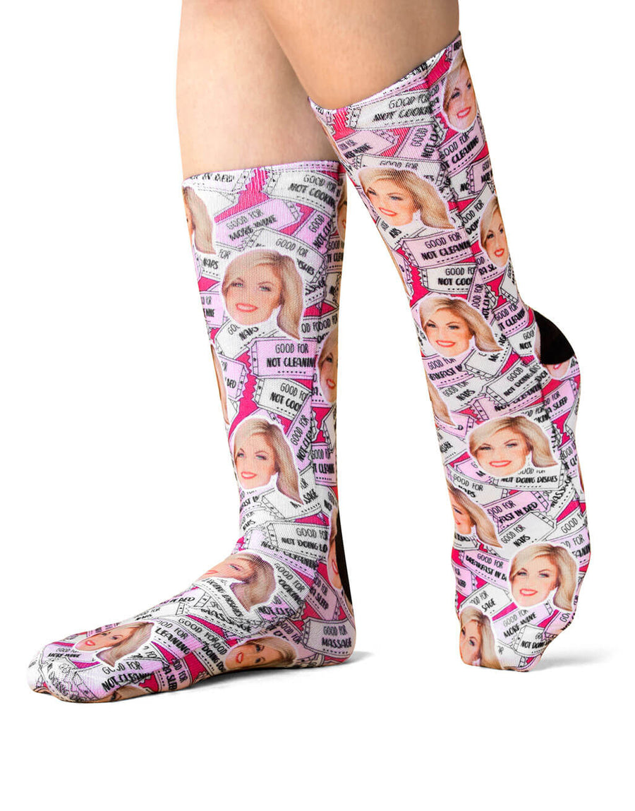 Mother's Day Coupon Socks