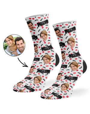 Mr & Mrs Signs Socks