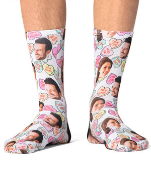 Naughty Love Hearts Socks
