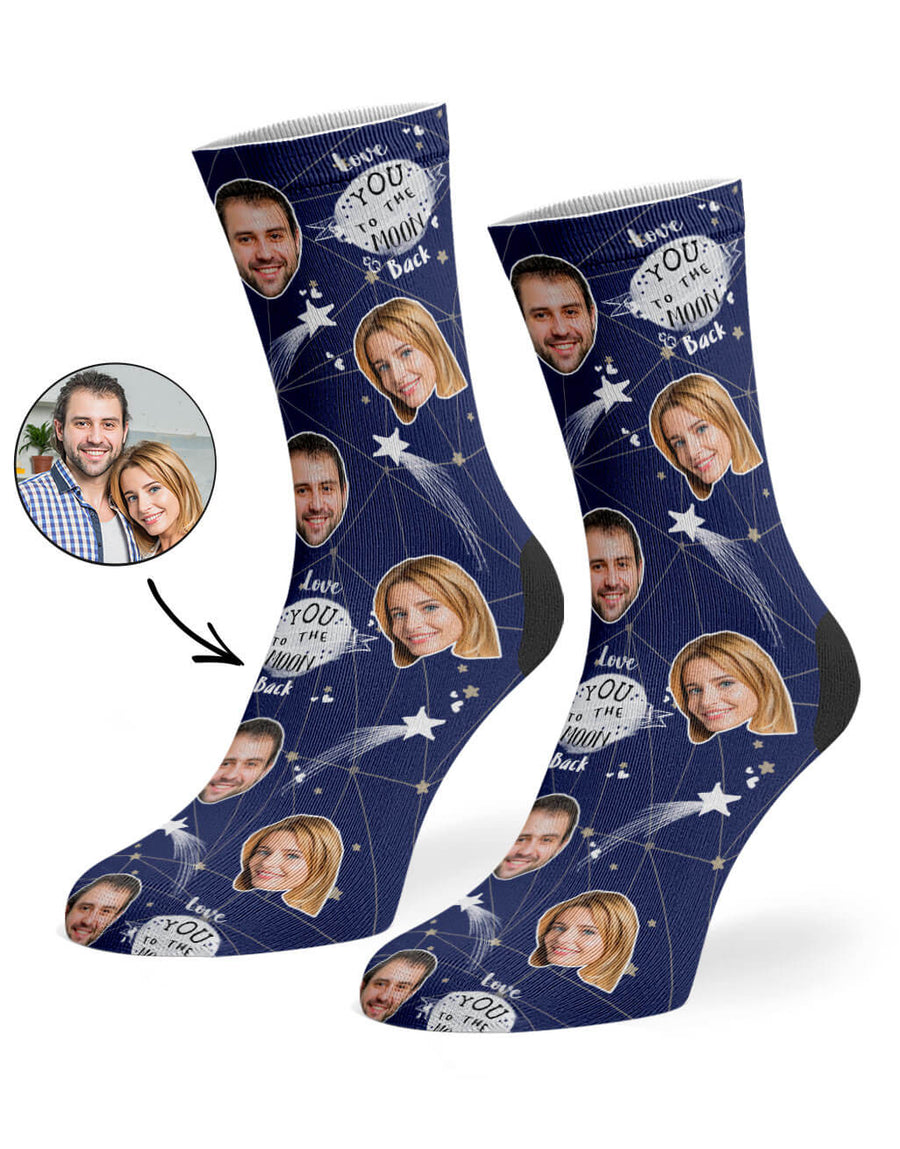 Moon & Back Socks