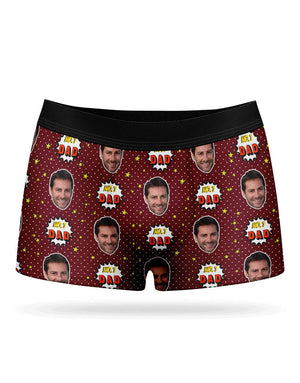 Number 1 Dad Boxers