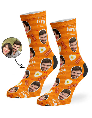 Don't Go Bacon My Heart Socks