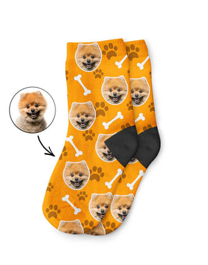 Your Dog On Kids Socks