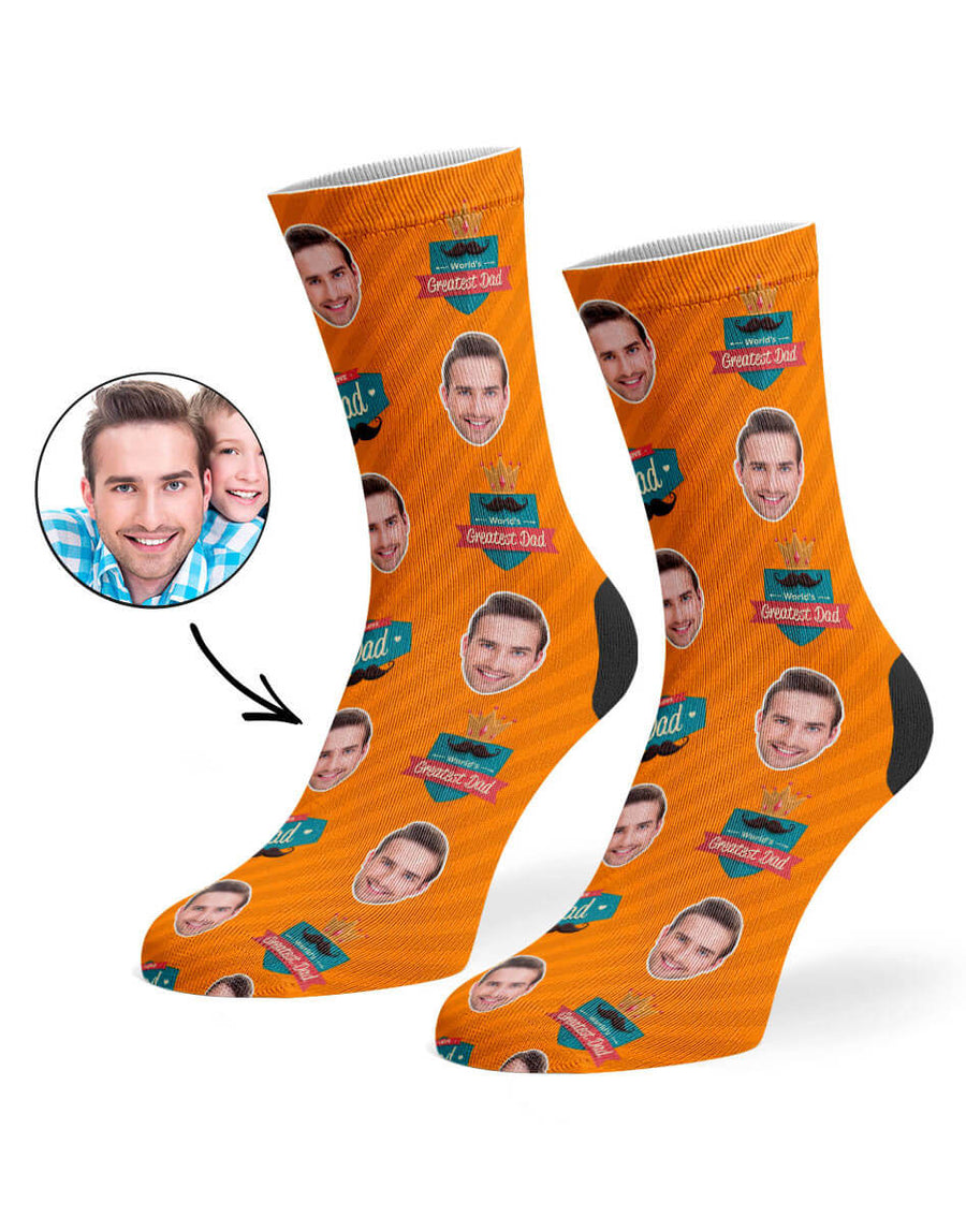 Greatest Dad Socks