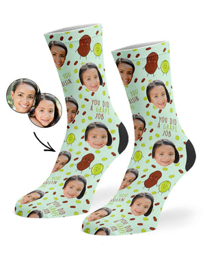 Raisin Me Socks