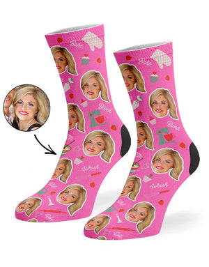 Baker Face Socks