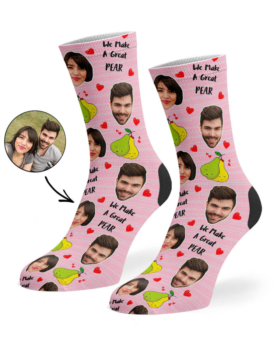 Great Pear Socks