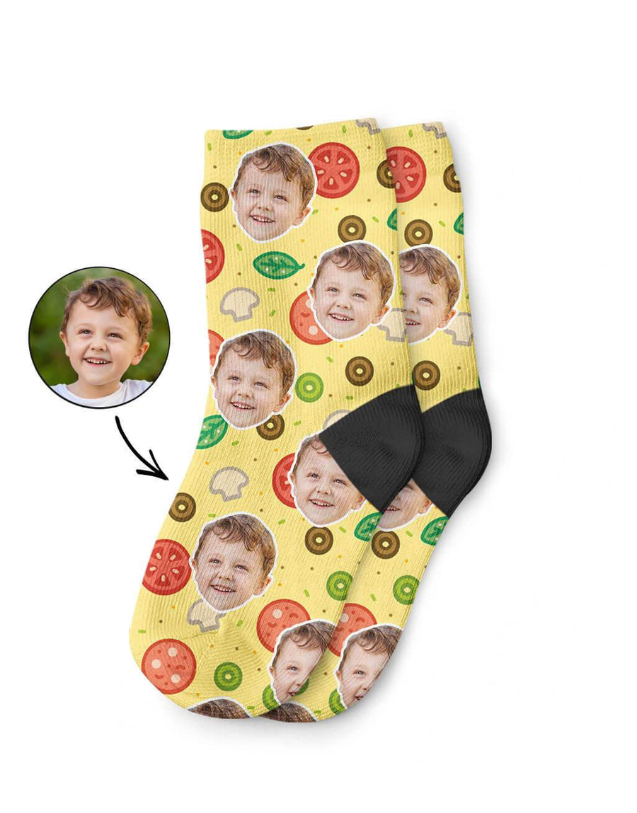 Pizza Kids Socks