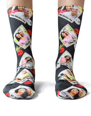 Polaroid Love Socks