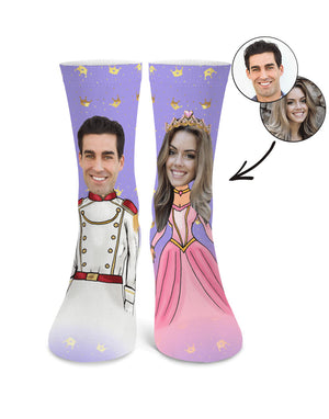 Prince & Princess Me Socks