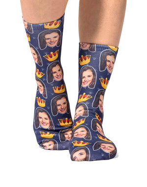 Queen Face Socks