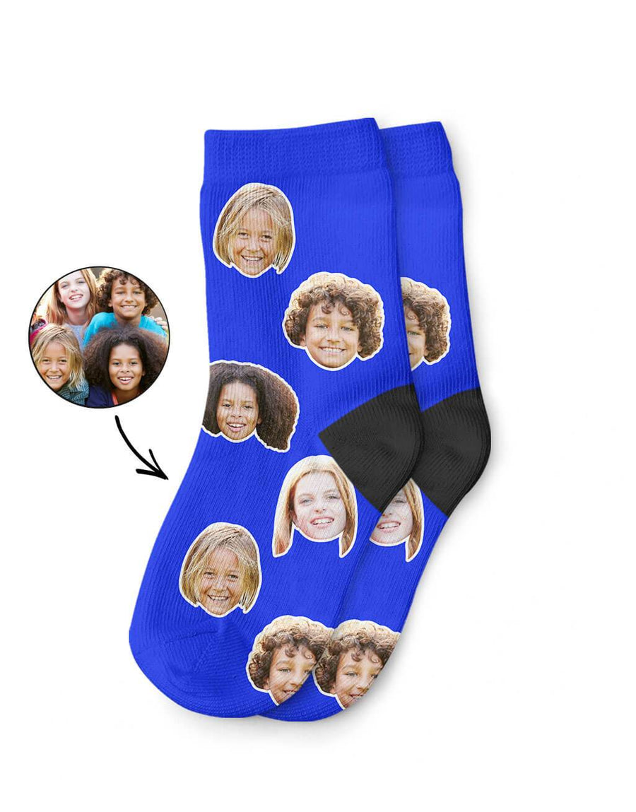 Friends Face Kids Socks