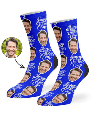 Happy Fathers Day Socks