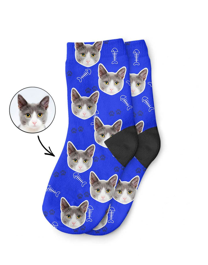 Your Cat On Kids Socks