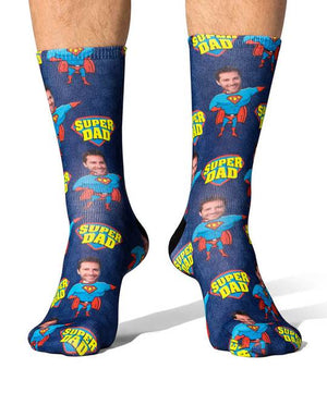 Super Hero Dad Socks