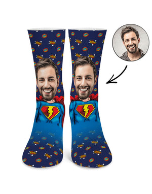 Superman Me Socks