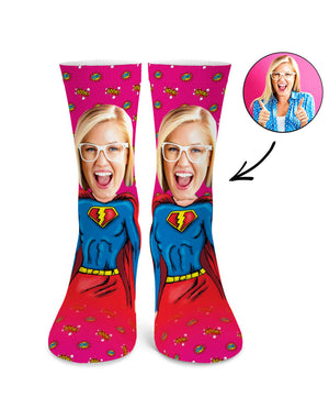 Superwoman Me Socks
