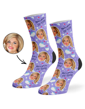 Tea-riffic Mom Socks