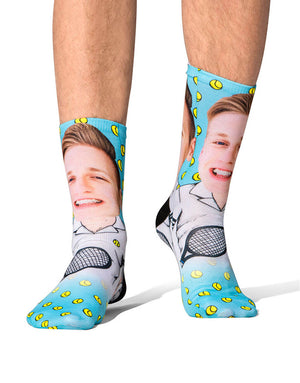 Tennis Player Socks