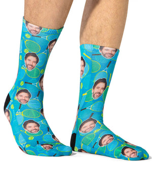 Tennis Racket Socks