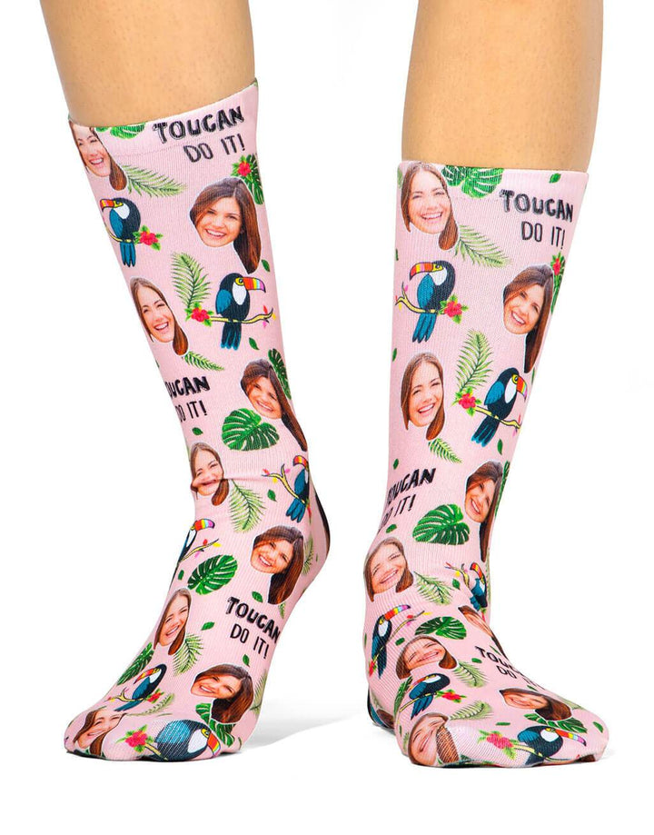 Toucan Do It! Socks