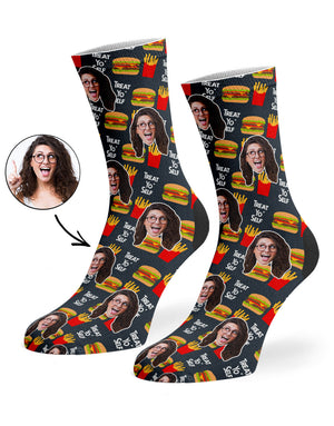 Treat Yo' Self Socks