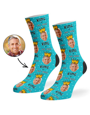 King Of Dad Jokes Socks